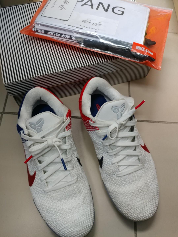 9f5a9b282318 Nike Kobe XI 11 Elite low USA Independence Day US9