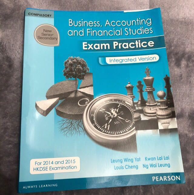 NSS Business, Accounting and Financial Studies Exam Practice Integrated Version PEARSON
