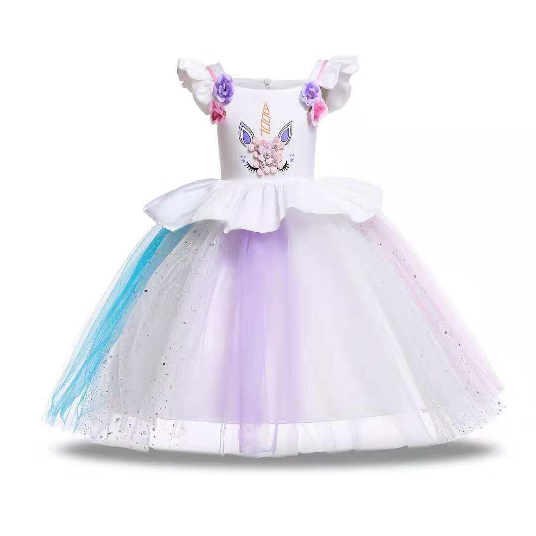 955f90fe4464 Party dress/rainbow dress/tutu dress/unicorn dress, Babies & Kids ...