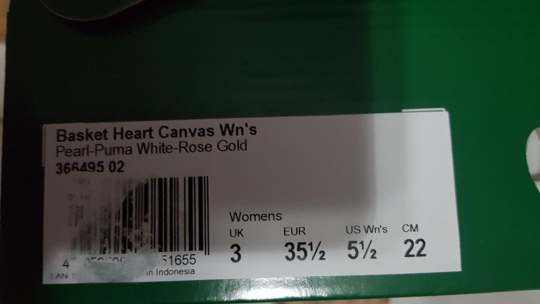 Pearl-Puma White-Rose Gold Sneaker