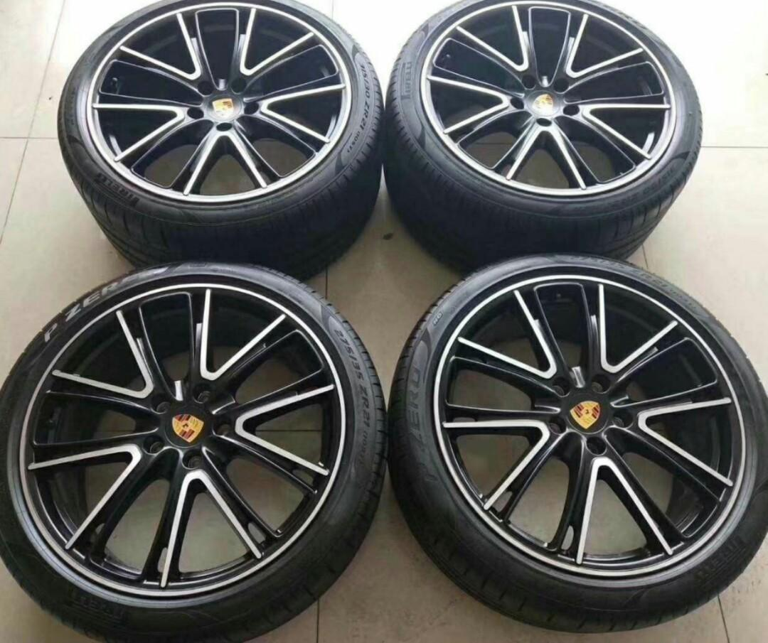 Porsche Panamera 4s 21 Wheels Car Accessories Tyres Rims On Carousell