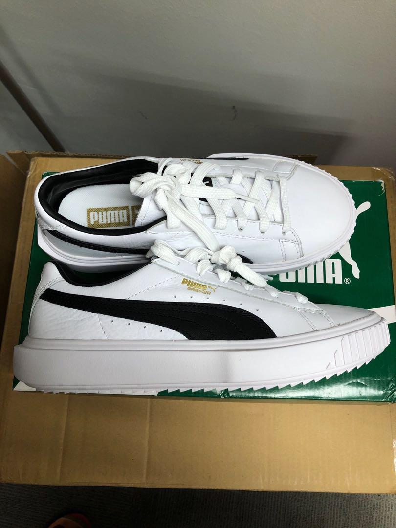 Puma Breaker LTHR women sneakers size uk 5 9b69d96bbb