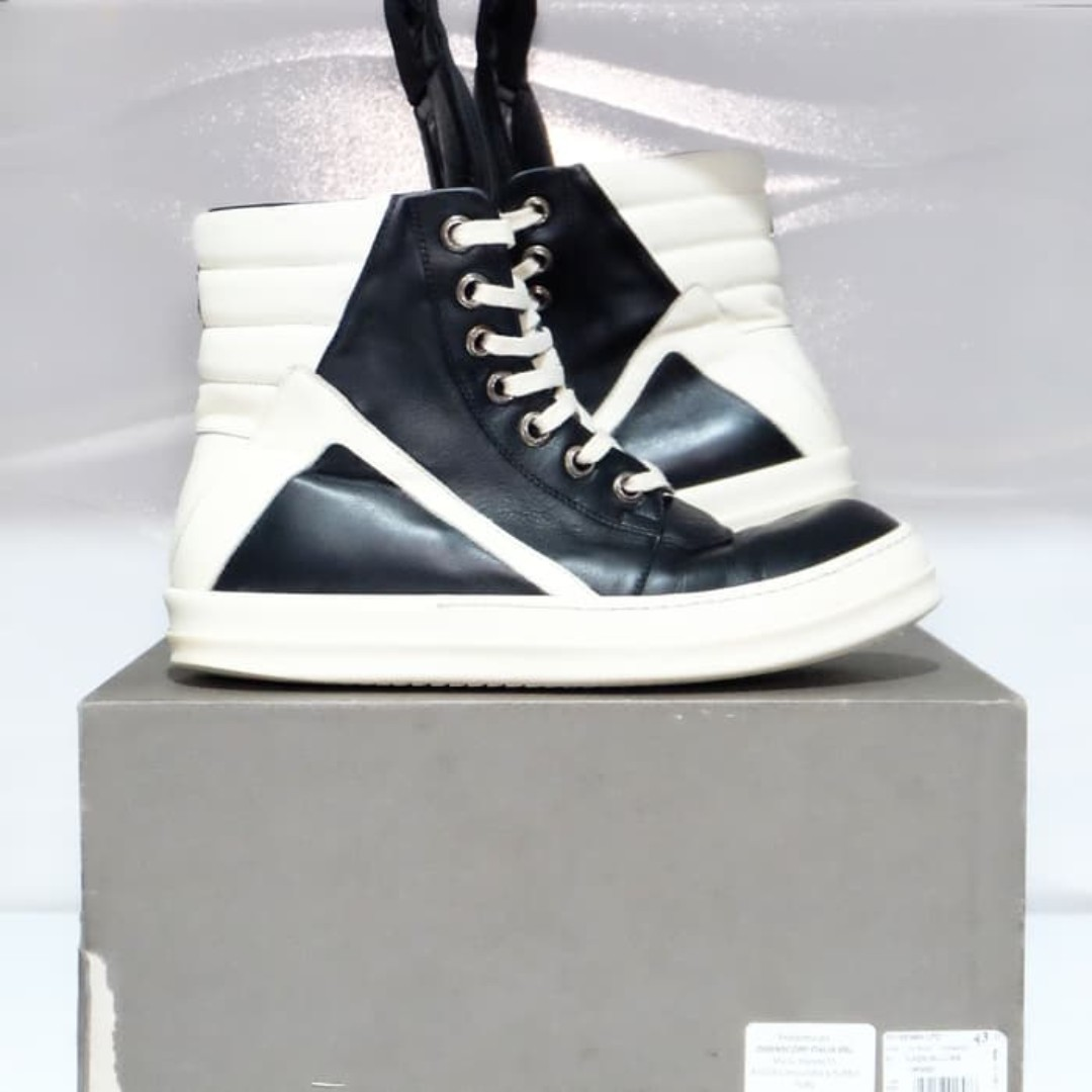 20bf1d330e384 Rick Owens x Chrome Hearts High Top Sneakers  maups4