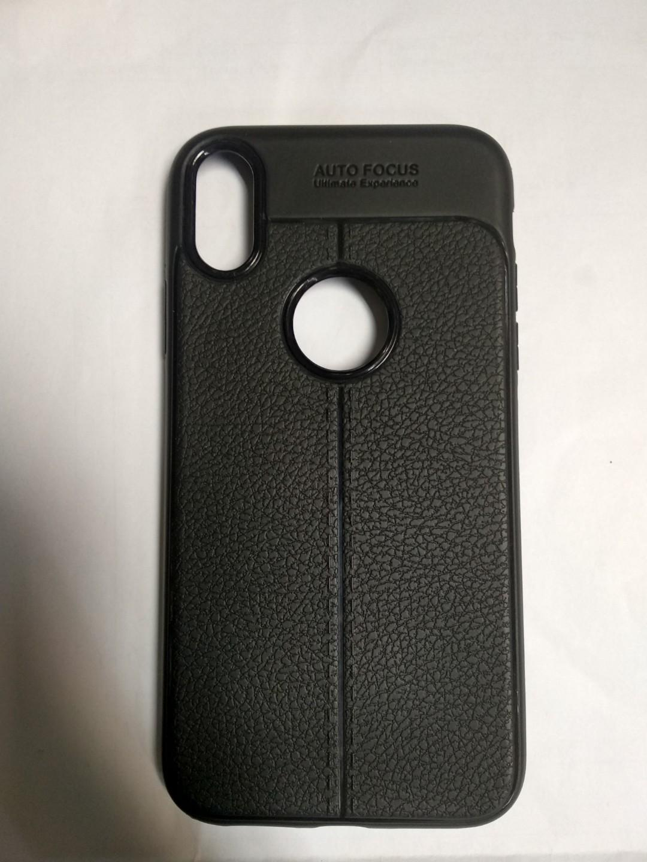 Silikon Soft Case Auto Focus Iphone XR Motif Kulit