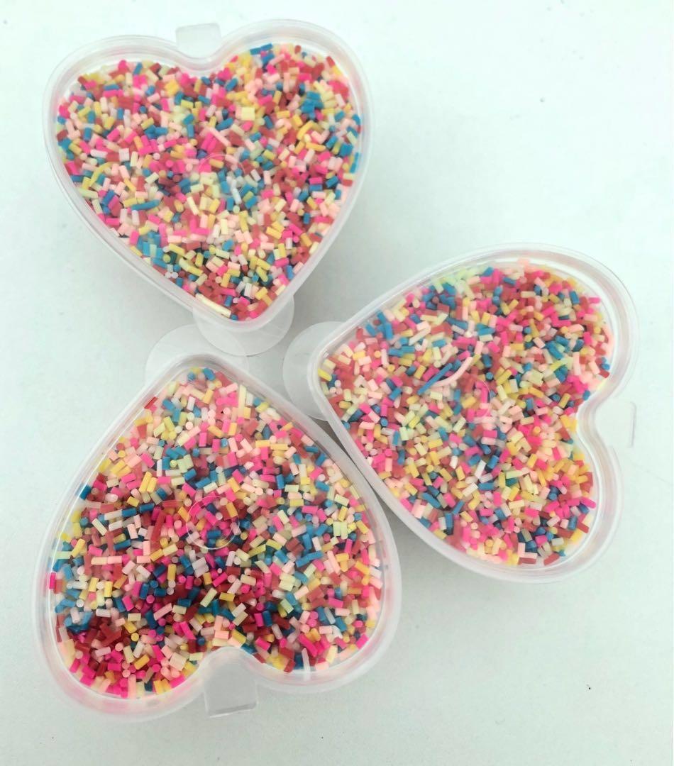 Sprinkles for slime deco , Design & Craft, Craft Supplies