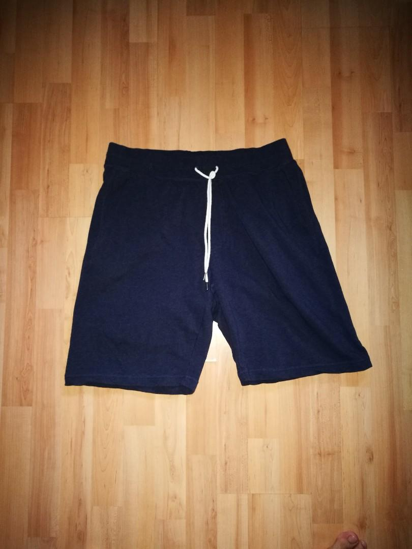 Uniqlo Sweat Shorts (Navy Blue)