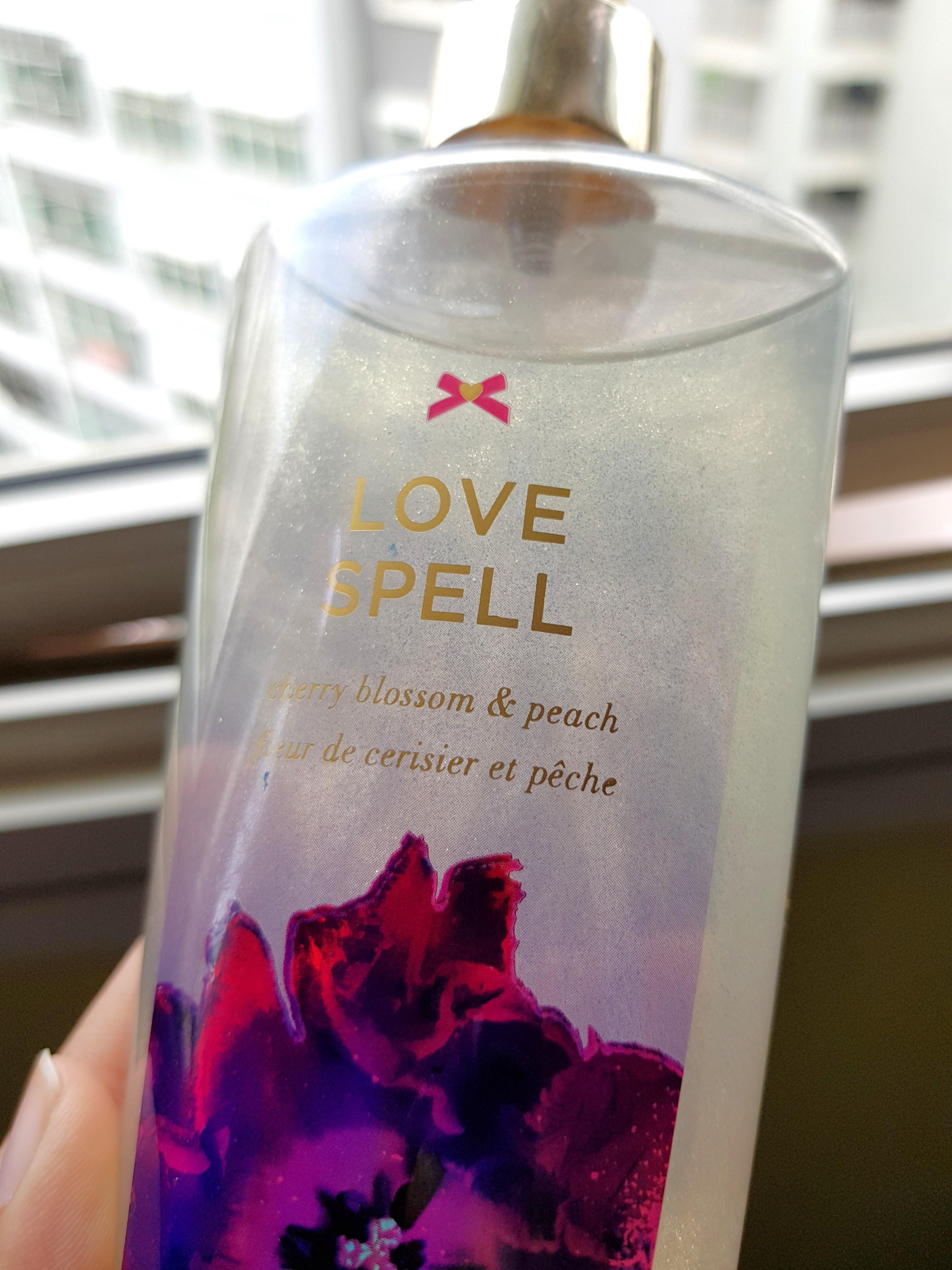 d636b682b6 Victoria s Secret Love Spell Body Mist Shimmer Fragrance