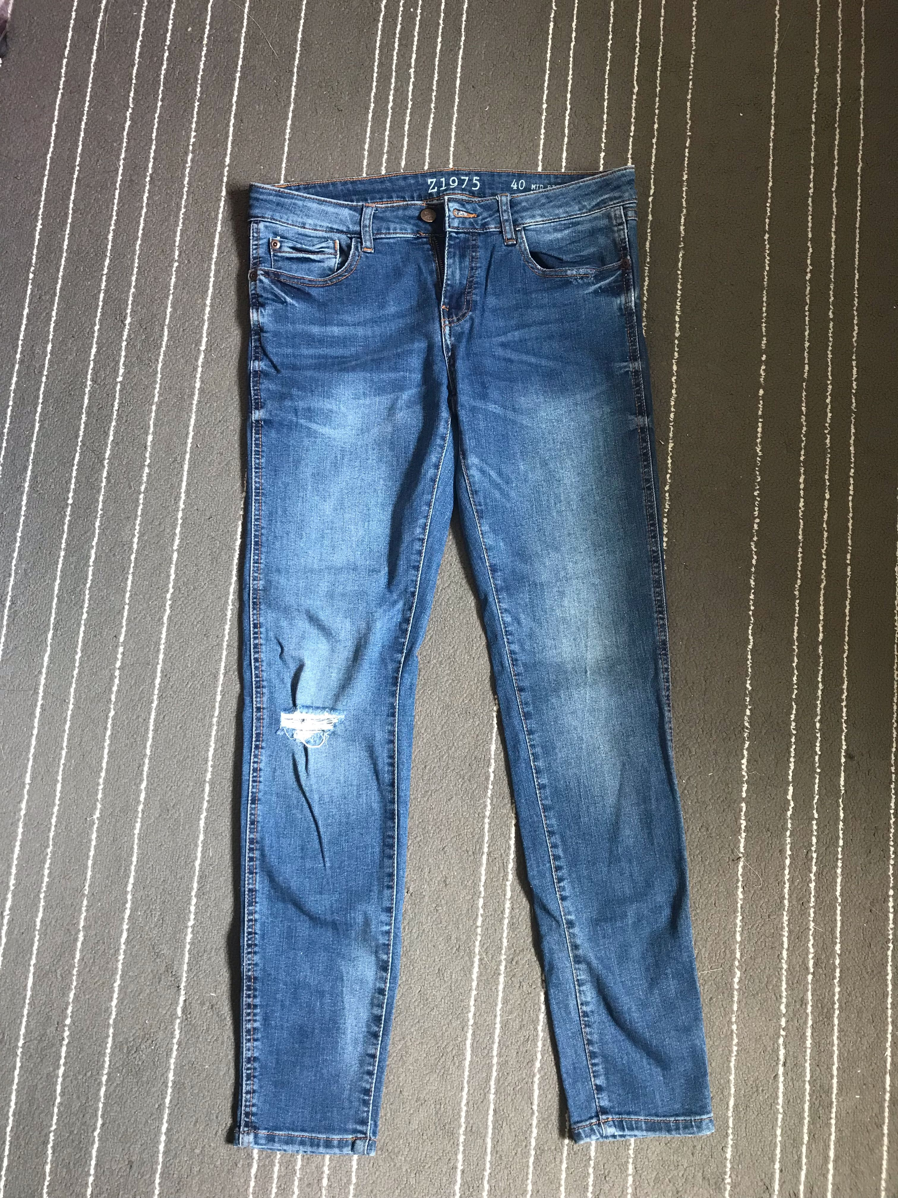 3fef560f Zara skinny jeans, Women's Fashion, Clothes, Bottoms on Carousell