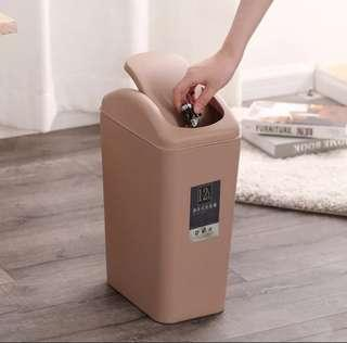 Swivel dustbin