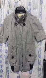 女裝 灰色 短袖 外套