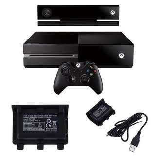XBOX One Rechargeable Battery Pack 2400mAh