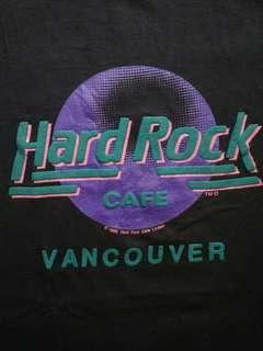 Kaos Original Hard Rock Cafe Vancouver