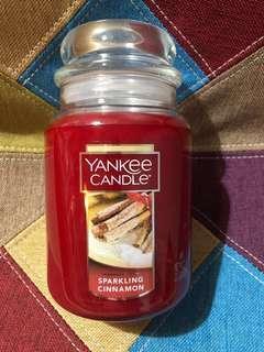Yankee Candle - Sparkling Cinnamon Large Jar