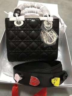 Lady dior with charm