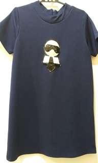 Fendi Navy Dress