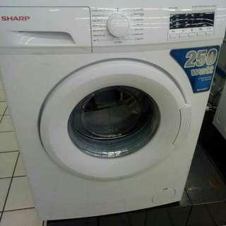 Kredit mesin cuci berbagai merk cuma bayar 199.000