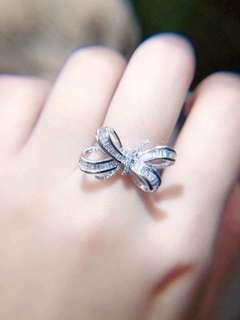 0.70ct-天然鑽石蝴蝶戒指 Natural diamond butterfly ring