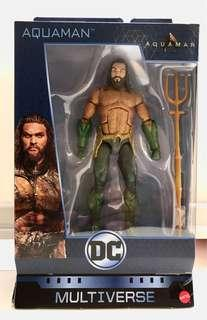 "DC Multiverse Trench Warrior CnC BAF AQUAMAN 7"" Movie Action Figure"