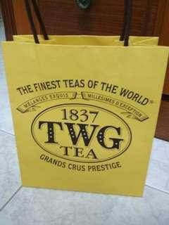 TWG tea small paper bag