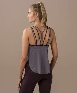 Lululemon Anew Singlet in Quicksand