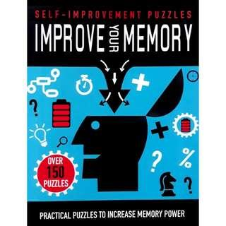 😀(Brand New) Improve Your Memory  Practical Puzzles to Increase Memory Power  By:Parragon Books Ltd