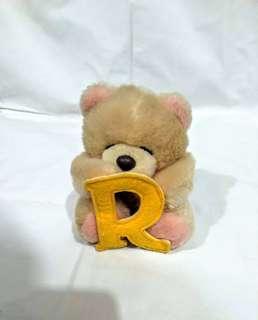 Forever Friends R 字Bear Bear 公仔