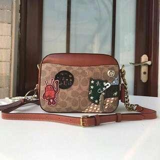 Coach Camerabag with Patchwork
