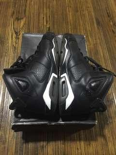 Air Jordan 6 Retro BG (Black/Black-White) Glow in the dark