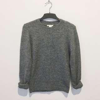 H&M Grey Wool Sweatshirt