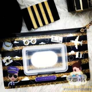 Fragranced Nappy Bag Clutch