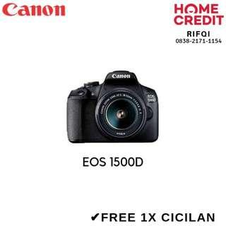 Kredit Kamera DSLR Canon EOS 1500D Proses Cepat Bisa Langsung bawa Pulang