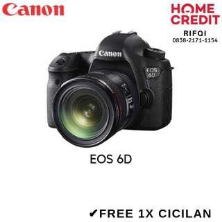 Kredit Kamera DSLR Canon EOS 6D Proses Cepat Bisa Langsung Bawa Pulang