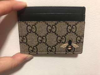 GUCCI BEE CARD HOLDER