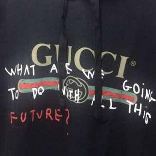 Gucci Coco Capitan Hoodie black