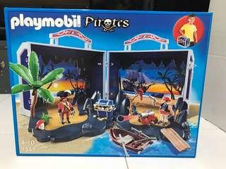 BNIB Playmobil carry along pirates