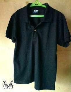 Unisex Black Polo Shirt
