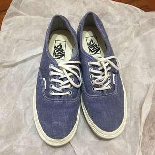 🚚 Vans 牛仔 帆布鞋