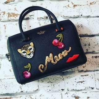 AUTHENTIC OVERRUN KATE SPADE BOSTON WITH CARDS AND DUSTBAG