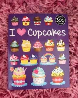 300 Mini Stickers < I 💜Cupcakes >