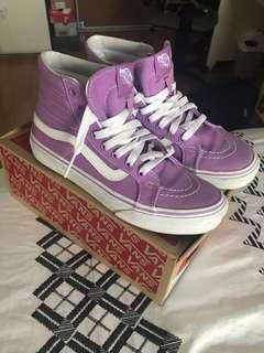 Purple High-Top Vans