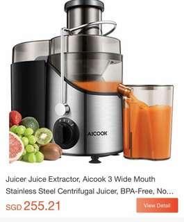 Aicook Juicer