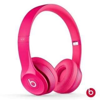 🚚 Beats耳機 桃紅色