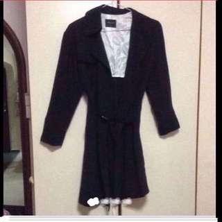 $199.90 G2000 Elegant Black Trench /Winter Coat (Brand New)
