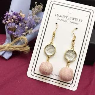 🚚 耳環 夾式耳環 飾品 甜美 百搭 簡約