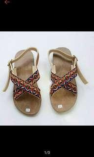 Bohemian sandal wanita murah