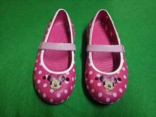 Authentic Crocs Shoe minnie mouse