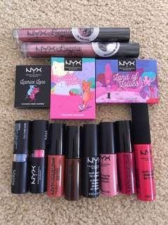 Bulk NYX makeup