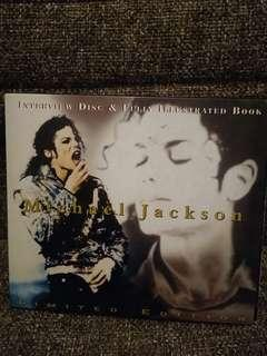 Michael Jackson Interview disc & Fully Illusterated Book cd