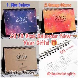 🚚 🔹2019 Calendar Desk 📅