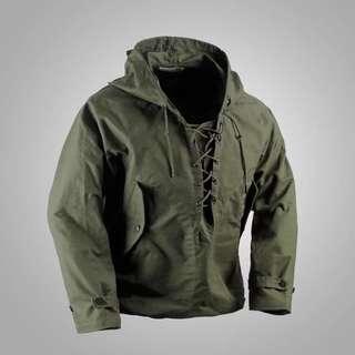 🚚 復刻usn parka二戰美軍雨衣帽T衝鋒衣